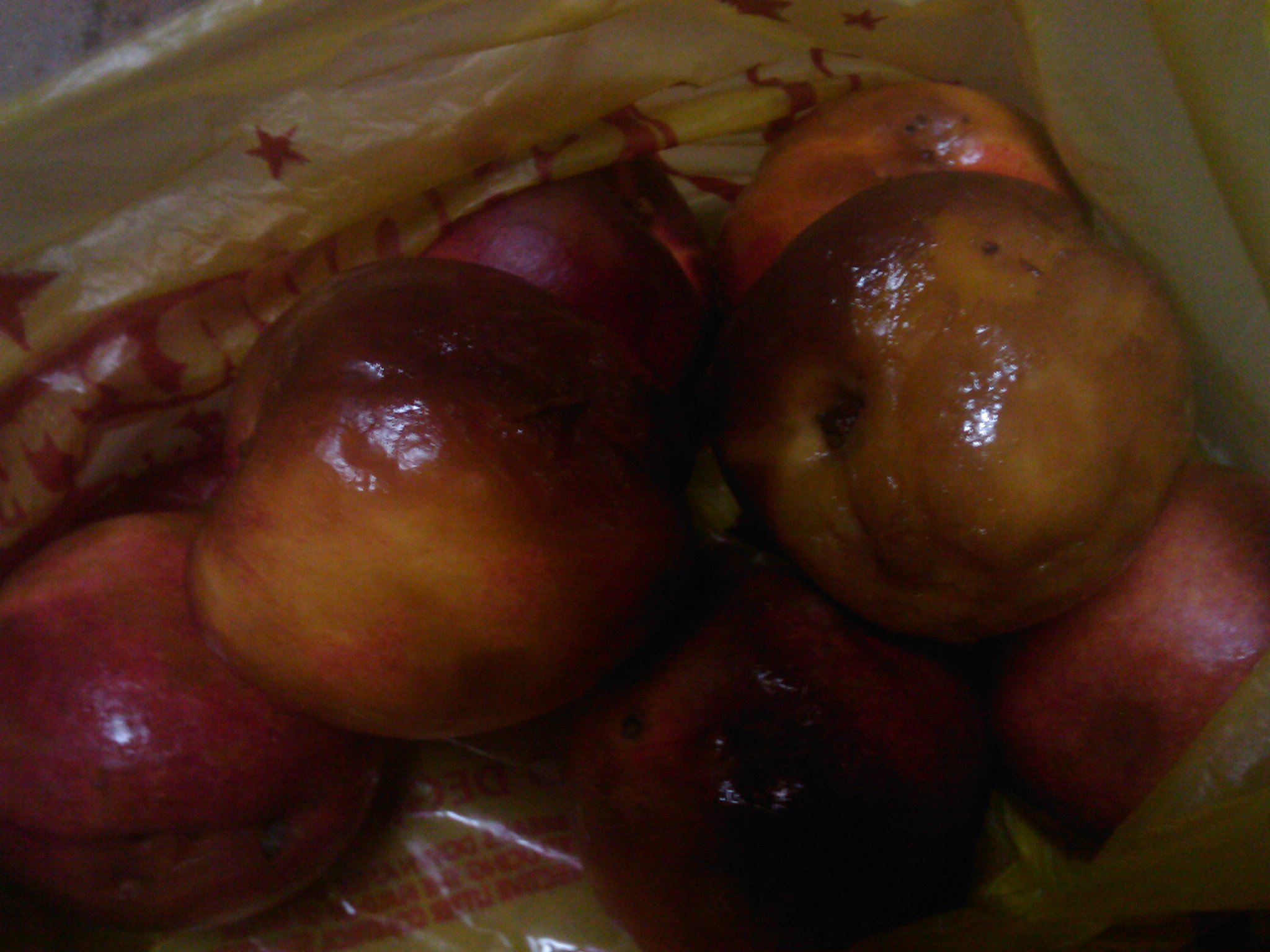 the bag of rotten nectarines